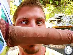 Jayden gets railed in the ass with a huge cock