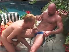 Big Bear Has Fun With Hot Blond Guy 2