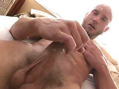 Straight Ryan cums best with a thick cock in his ass!