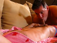 Emilio gets pounded in his asshole!